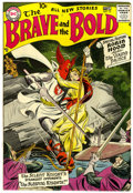 Silver Age (1956-1969):Adventure, The Brave and the Bold #13 (DC, 1957) Condition: Apparent VF-....