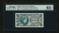 Military Payment Certificates:Series 651, Series 651 25¢ PMG Choice Uncirculated 64 EPQ....