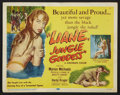 "Movie Posters:Adventure, Liane, Jungle Goddess (DCA, 1958). Title Lobby Card (11"" X 14"").Adventure.. ..."