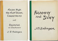 Books:First Editions, J. D. Salinger. Two Books, including: Franny and Zooey.[and:] Raise High the Roof Beam, Carpenters and Seym... (Total:2 Items)