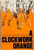 Books:First Editions, Anthony Burgess. A Clockwork Orange. New York: W. W. Norton,[1963]. First American edition in first issue dust jack...