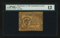 Colonial Notes:Continental Congress Issues, Continental Currency February 17, 1776 $8 PMG Fine 12....