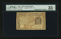 Colonial Notes:New York, New York August 13, 1776 $2 PMG Choice Very Fine 35 Net....