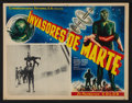"""Movie Posters:Science Fiction, Invaders from Mars (20th Century Fox, 1953). Mexican Lobby Card (13"""" X 16.5""""). Science Fiction.. ..."""
