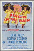 """Movie Posters:Musical, Singin' in the Rain (MGM, R-1962). One Sheet (27"""" X 41""""). Musical.. ..."""