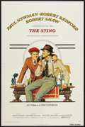 "Movie Posters:Crime, The Sting (Universal, 1974). One Sheet (27"" X 41""). Crime.. ..."