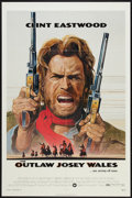 "Movie Posters:Western, The Outlaw Josey Wales (Warner Brothers, 1976). One Sheet (27"" X41""). Western.. ..."