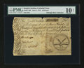 Colonial Notes:South Carolina, South Carolina June 1, 1775 £20 PMG Very Good 10 Net....