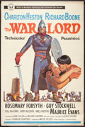 "Movie Posters:War, The War Lord (Universal, 1965). Poster (40"" X 60""). War.. ..."