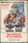 "Movie Posters:War, The Heroes of Telemark (Columbia, 1966). Poster (40"" X 60""). War....."