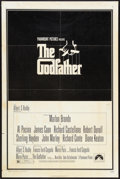 "Movie Posters:Crime, The Godfather Lot (Paramount, 1972). One Sheet (27"" X 41"") andTranslucent (14"" X 17"") DS. Crime.. ... (Total: 2 Items)"