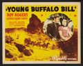 """Movie Posters:Western, Young Buffalo Bill (Republic, 1940). Lobby Card Set of 8 (11"""" X 14""""). Western.. ... (Total: 8 Items)"""