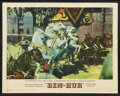 "Movie Posters:Historical Drama, Ben-Hur (MGM, 1959). Lobby Cards (4) (11"" X 14""), Color Stills (9)(8"" X 10""), Stills (3) (8"" X 10""), and Advertisement (6"" ...(Total: 17 Items)"