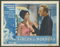 """Movie Posters:Horror, Circus of Horrors (American International, 1960). Lobby Cards (3)(11"""" X 14"""") and Stills (6) (8"""" X 10""""). Horror.. ... (Total: 9Items)"""