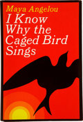 Books:First Editions, Maya Angelou. I Know Why the Caged Bird Sings. New York:Random House, [1969].. First edition. Signed by Ang...