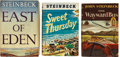 Books:First Editions, John Steinbeck. Three Books, including: The Wayward Bus. NewYork: Viking Press, 1947. First edition, first issu... (Total: 3Items)