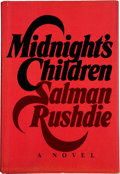 Books:First Editions, Salman Rushdie. Midnight's Children. New York: Knopf, 1981..First edition. Signed by Rushdie on title pag...