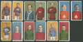 """Hockey Cards:Lots, 1911 C60 Imperial """"Lacrosse Series"""" Collection (13)...."""