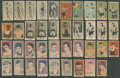 """Boxing Cards:General, 1910's-1920's """"W"""" Strip Cards Boxing Collection (39) With Dempseyand Uncatalogued W512s...."""