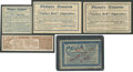 Boxing Cards:General, 19th-20th Century Tobacco Coupon Collection (5)....