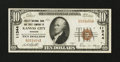 National Bank Notes:Missouri, Kansas City, MO - $10 1929 Ty. 2 Fidelity NB & TC Ch. # 11344. ...