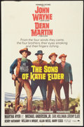 "Movie Posters:Western, The Sons of Katie Elder (Paramount, 1965). One Sheet (27"" X 41"").Western.. ..."