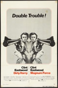 "Movie Posters:Crime, Dirty Harry/Magnum Force Combo (Warner Brothers, 1975). One Sheet(27"" X 41""). Crime.. ..."