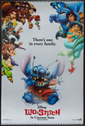 "Movie Posters:Animated, Lilo & Stitch (Buena Vista, 2002). Lenticular One Sheet (27"" X40"") Advance. Animated.. ..."