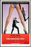 """Movie Posters:James Bond, For Your Eyes Only (United Artists, 1981). One Sheet (27"""" X 41""""). James Bond.. ..."""