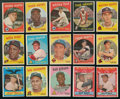 Baseball Cards:Sets, 1959 Topps Baseball High End Complete Set (572). ...