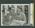 "Movie Posters:Crime, Edward G. Robinson and James Cagney in ""Smart Money"" (WarnerBrothers, 1931). Still (7.75"" X 10""). Crime.. ..."
