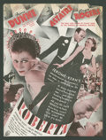 "Movie Posters:Musical, Roberta (RKO, 1935). Herald (8.75"" X 11.75"", Folded Out). Musical....."