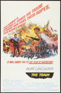 "Movie Posters:War, The Train (United Artists, 1965). One Sheets (2) (27"" X 41"") StylesA & B. War.. ... (Total: 2 Items)"