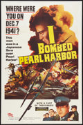 "Movie Posters:War, I Bombed Pearl Harbor (Parade, 1961). One Sheet (27"" X 41""). War....."