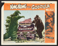 "Movie Posters:Science Fiction, King Kong vs. Godzilla (Universal, 1963). Lobby Cards (2) (11"" X14""). Science Fiction.. ... (Total: 2 Items)"