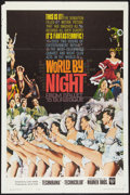 "Movie Posters:Documentary, World by Night (Warner Brothers, 1961). One Sheet (27"" X 41""). Documentary.. ..."