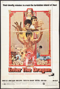 "Movie Posters:Action, Enter the Dragon (Warner Brothers, 1973). Poster (40"" X 60"").Action.. ..."