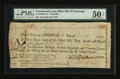 Colonial Notes:Maryland, Continental Loan Office Bill of Exchange Third Bill - $24 Dec. 23,1779 Anderson US-96/MD-4A. PMG About Uncirculated 50 Net....