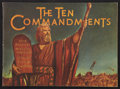 "Movie Posters:Historical Drama, The Ten Commandments (Paramount, 1956). Program (9"" X 12.5"")(Multiple Pages). Historical Drama.. ..."