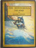 Books:Fiction, N. C. Wyeth, [illustrator]. Jules Verne. The MysteriousIsland. New York: Charles Scribner's Sons, 1951. 493 pages. ...