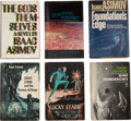 Books:First Editions, Isaac Asimov. Six First Editions From the Library of Sam Moskowitz,including: Lucky Starr and the Oceans of Venus... (Total: 6Items)