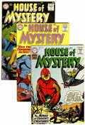 Silver Age (1956-1969):Horror, House of Mystery Group (DC, 1960-61).... (Total: 10 )