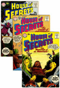 Silver Age (1956-1969):Mystery, House of Secrets Group (DC, 1960-61) Condition: Average VG/FN....(Total: 9 )