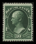 Stamps, 30c State (O66),...