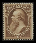 Stamps, 7c Treasury (O76),...