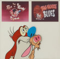 Animation Art:Production Cel, The Ren & Stimpy Show Animation Production Cel OriginalArt (1992).