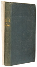 Books:Non-fiction, Two Books on Guinea, including: J. Smith. Trade and Travels inthe Gulph of Guinea. London: 1851. Good to ve... (Total:2 Items)