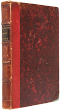 Books:Non-fiction, Cheihk Mohammed Ibn-Omar el Tounsy. Voyage au Darfour. Paris: Chez Benjamin Duprat, 1845.. First edition in French...
