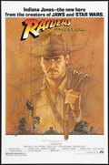 "Movie Posters:Adventure, Raiders of the Lost Ark (Paramount, 1981). Fan Club One Sheet (27""X 41""). Adventure.. ..."