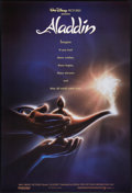 "Movie Posters:Animated, Aladdin (Buena Vista, 1992). One Sheet (27"" X 40"") DS Advance.Animated.. ..."